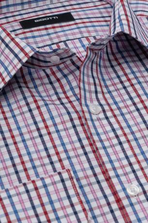 Slim body White Carouri Shirt