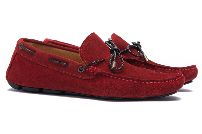 Red Suede leather Shoes